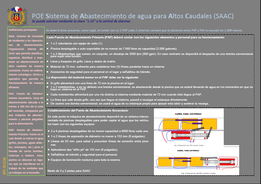 ATC 011 16 POE Sistema de Abastecimiento de agua para Altos Caudales (SAAC)