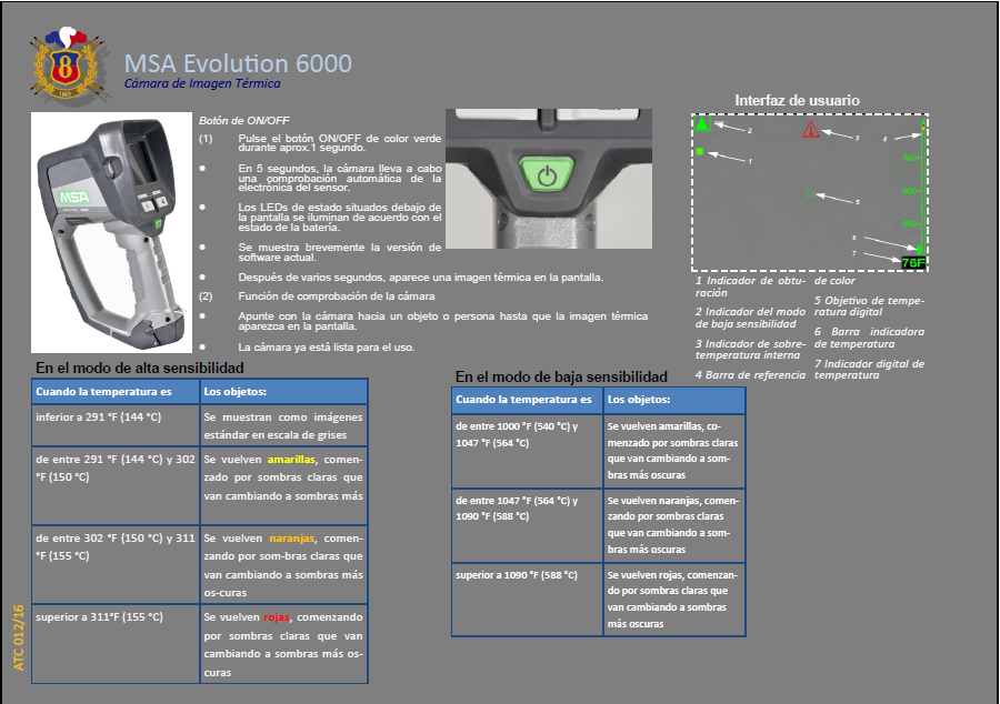 ATC 012 16 MSA Evolution 6000