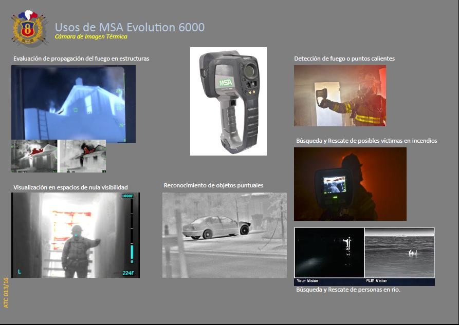 ATC 013 16 Usos de MSA Evolution 6000