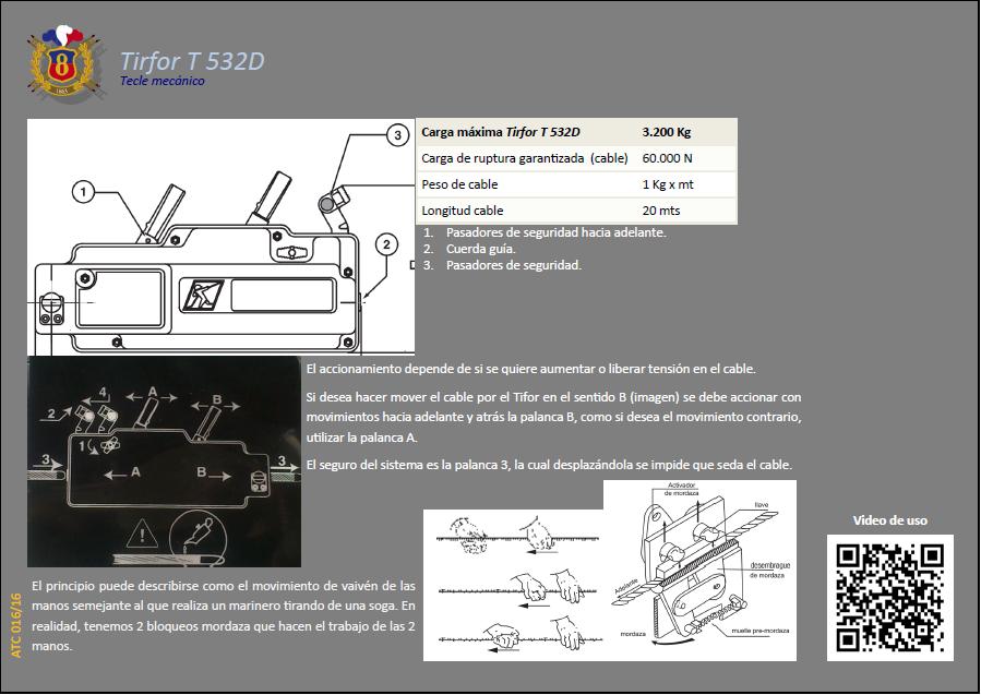 ATC 016 16 Tirfor T 532D