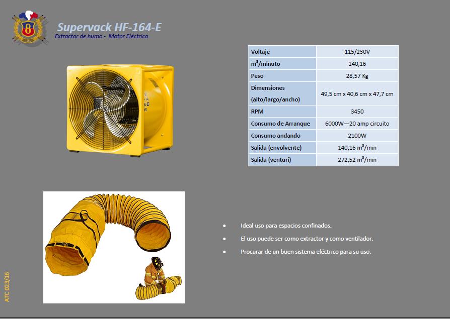 ATC 023 16 Supervack HF 164 E